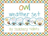 Owls Weather Set
