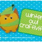Owls in Winter Craftivity