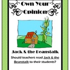 Owning Your Opinion: Persuasive Writing Lesson on Jack and