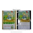 P-E-T-E-R Rabbit Interactive Book, Printable in Full Color!