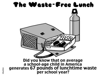PACK A WASTE FREE LUNCH