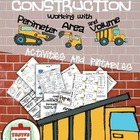 P.A.V. Construction Mega Pack (Practicing Perimeter, Area,