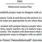 PBIS 45 minute lesson Part 1: Dealing w/ adult/student con
