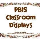 PBIS Classroom Display (Monkey Theme)