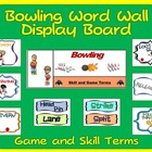 PE Display Board and Word Wall: Bowling
