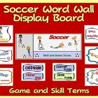 PE Display Board and Word Wall: Soccer