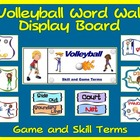 PE Display Board and Word Wall: Volleyball