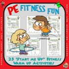 "PE Fitness Fun! - ""Start your Engines"""