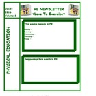 PE Newsletter Template