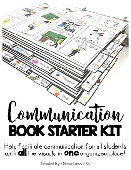 PECS Communication Book- Starter Set for Student's with Special Needs