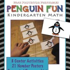 Winter Math: Penguin Fun