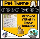 PET Theme Test Prep: Practice Filling in Those Bubbles!