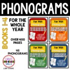 PHONOGRAMS - Fun With Phonograms - Bundle of 4