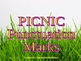 PICNIC PUNCTUATION ENDMARKS : POWERPOINT AND PRINTABLE ASSESSMENT