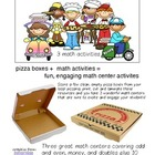 PIZZA PROBLEMS 3 engaging Math Activities