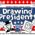 PK-3 Draw the Presidents: Abe Lincoln &amp; George Washington 
