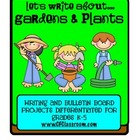 PLANTS / GARDENS: A differentiated writing resource for gr
