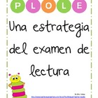 PLOLE: A High Stakes Reading Testing Strategy in Spanish