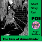 POE- THE CASK OF AMONTILLADO- WORKSHEETS