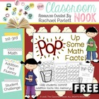 """POP"" Up Some Math Facts {A fun way to practice addition fluency}"