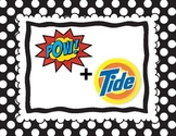 POW + TIDE Mnemonic Poster from SRSD