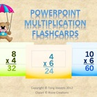 POWERPOINT: Multiplication Flashcards (3 Files)