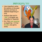 PRETERITE vs IMPERFECT interactive powerpoint