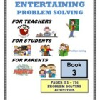 PROBLEM SOLVING ACTIVITIES - BOOK #3 (51 - 75)