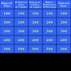 PSSA Geometry and Measurement Jeopardy PowerPoint