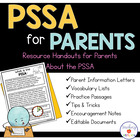 PSSA for Parents: Resource Handouts for Parents Regarding PSSA