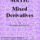 PUZZLE MATH:  Mixed Derivatives