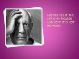 Pablo Picasso Power Point Assessment