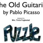 Pablo Picasso's Old Guitarist ~Interactive Whiteboard Art