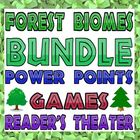 Package:Forest biomes (Power Points, games, reader's theater)