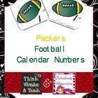 Packers Football Calendar Numbers