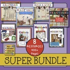Math and Literacy Super Bundle {Page Protector Printables}