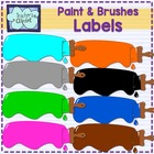 Paint labels clip art