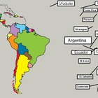 Países y capitales de Latinoamérica Whiteboard Activity
