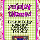 Paisley Print Beanie Decoding/Comprehension Strategy Posters