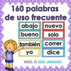 Palabras de alta frecuencia. High frequency words in Spanish