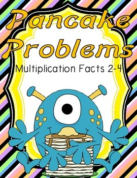 Pancake Problems Multiplication Math Center