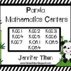 Panda Mathematics Centers- Common Core