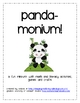 Panda-monium! A fun, first grade panda mini-unit!