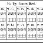 Panicked Teacher's Ten Frames Book