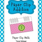 Paper Clip Addition Cards: Hands-On Math
