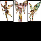 Paper Dolls from Renaissance Art Made Into Angels & Archangels