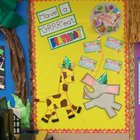Paper Piecing Classroom Decoration