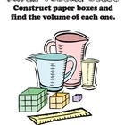 Paper Volume Cubes: Understanding Volume Through Paper Craft