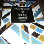 Paperback set- Scott Fitzgerald-This Side of Paradise