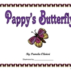 Pappy&#039;s Butterfly book with questions and figurative language